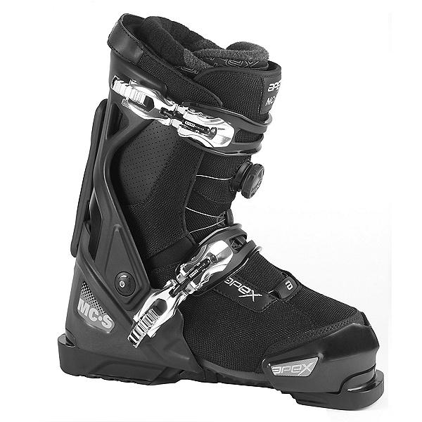 Apex MC-S Ski Boots, Black-Black, 600