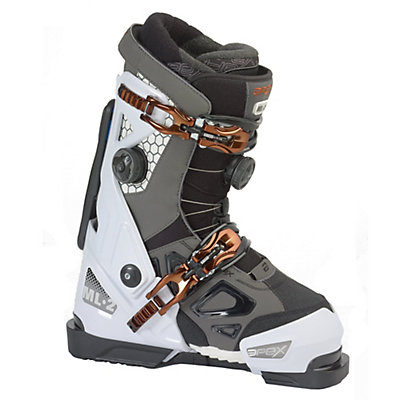Apex ML-2 Womens Ski Boots, White-Dark Grey, viewer