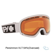 Spy Marshall Goggles, White-Persimmon, medium