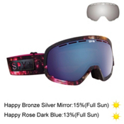Spy Marshall with Happy Lens Goggles 2015, Cosmic Mayhem-Happy Rose W Dar + Bonus Lens, medium