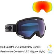 Spy Platoon Goggles 2015, Black-Persimmon Contact + Bonus Lens, medium