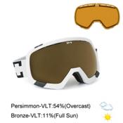 Spy Platoon Goggles 2015, White-Bronze + Bonus Lens, medium