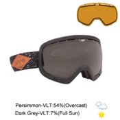 Spy Platoon Goggles, Midnight Makeout-Dark Grey + Bonus Lens, medium