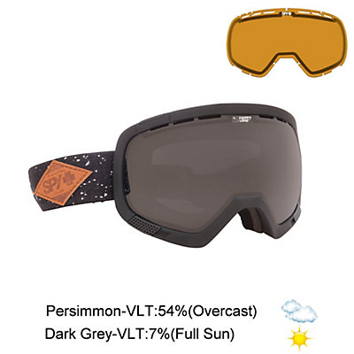 Spy Platoon Goggles, Black-Bronze + Bonus Lens, viewer