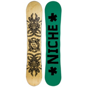 Niche Story 2.0 Snowboard, Light Wood-Green, medium