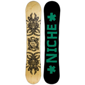 Niche Story 2.0 Snowboard, Light Wood-Black, medium