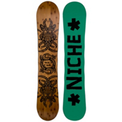 Niche Story 2.0 Snowboard, Dark Wood-Green, medium