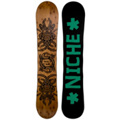 Niche Story 2.0 Snowboard, Dark Wood-Black, medium