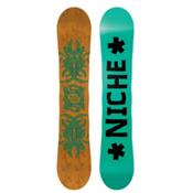 Niche Story Camber Snowboard, Black, medium