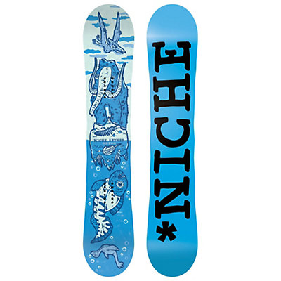 Niche Aether Snowboard, Blue, viewer
