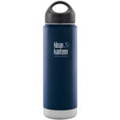 Klean Kanteen 20oz Wide Vacuum Insulated Water Bottle 2016, Deep Sea, medium