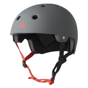 Triple 8 Brainsaver EPS Liner Mens Skate Helmet, Gun Matte, medium