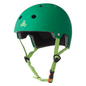 Triple 8 Brainsaver EPS Liner Mens Skate Helmet, Kelly Green, medium