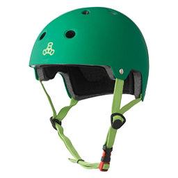 Triple 8 Brainsaver EPS Liner Mens Skate Helmet, Kelly Green, 256