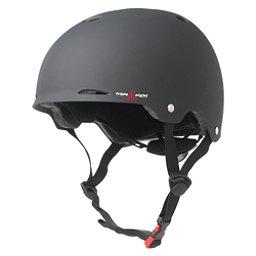 Triple 8 Gotham EPS Liner Mens Skate Helmet 2017, Black Rubber, 256