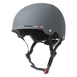 Triple 8 Gotham EPS Liner Mens Skate Helmet, Gun Matte Rubber, 256