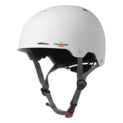 Triple 8 Gotham EPS Liner Mens Skate Helmet, White Matte, medium