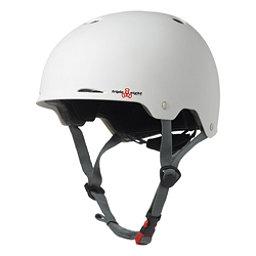 Triple 8 Gotham EPS Liner Mens Skate Helmet, White Matte, 256
