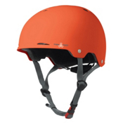 Triple 8 Gotham EPS Liner Mens Skate Helmet, Orange Rubber, medium