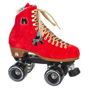Riedell Moxi Lolly Poppy Womens Outdoor Roller Skates, , medium