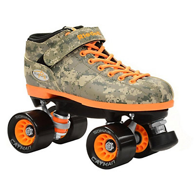 Riedell R3 Camo Speed Roller Skates 2017, Camo, viewer