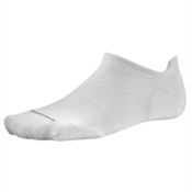 SmartWool PhD Run Light Elite Micro Socks, White, medium