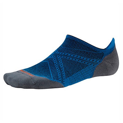 SmartWool PhD Run Light Elite Micro Socks, Bright Blue, viewer