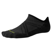 SmartWool PHD Run Light Elite Micro 17 Socks, Black, medium
