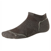 SmartWool PhD Outdoor UL Micro Mens Socks, Taupe, medium