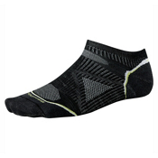 SmartWool PhD Outdoor UL Micro Mens Socks, Black, medium
