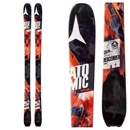 Atomic Backland Descender Skis, Black-Orange, 256