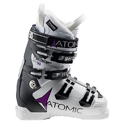Atomic Redster Pro 90 W Womens Ski Boots, White-Black, viewer