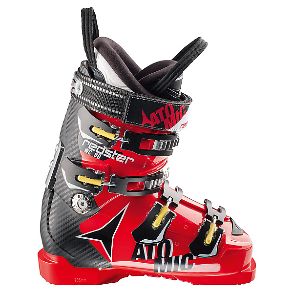 Atomic Redster WC 90 Race Ski Boots, Red-Black, 600