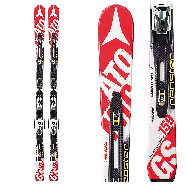 Atomic Redster FIS D2 GS Jr. Junior Race Skis with X 12 Bindings, , 600