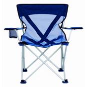 Travel Chair Teddy Steel Chair, Blue, medium