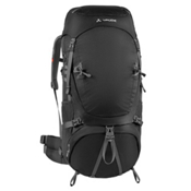 Vaude Astrum 60+10 Backpack, Black, medium