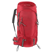 Vaude Asymmetric 48+8 Womens Backpack, Red, medium