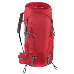Vaude Asymmetric 48+8 Womens Backpack, Red, 256