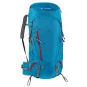 Vaude Asymmetric 48+8 Womens Backpack, Teal Blue, medium