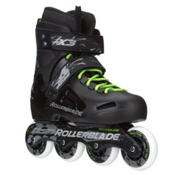 Rollerblade Fusion X3 Urban Inline Skates, Black, medium