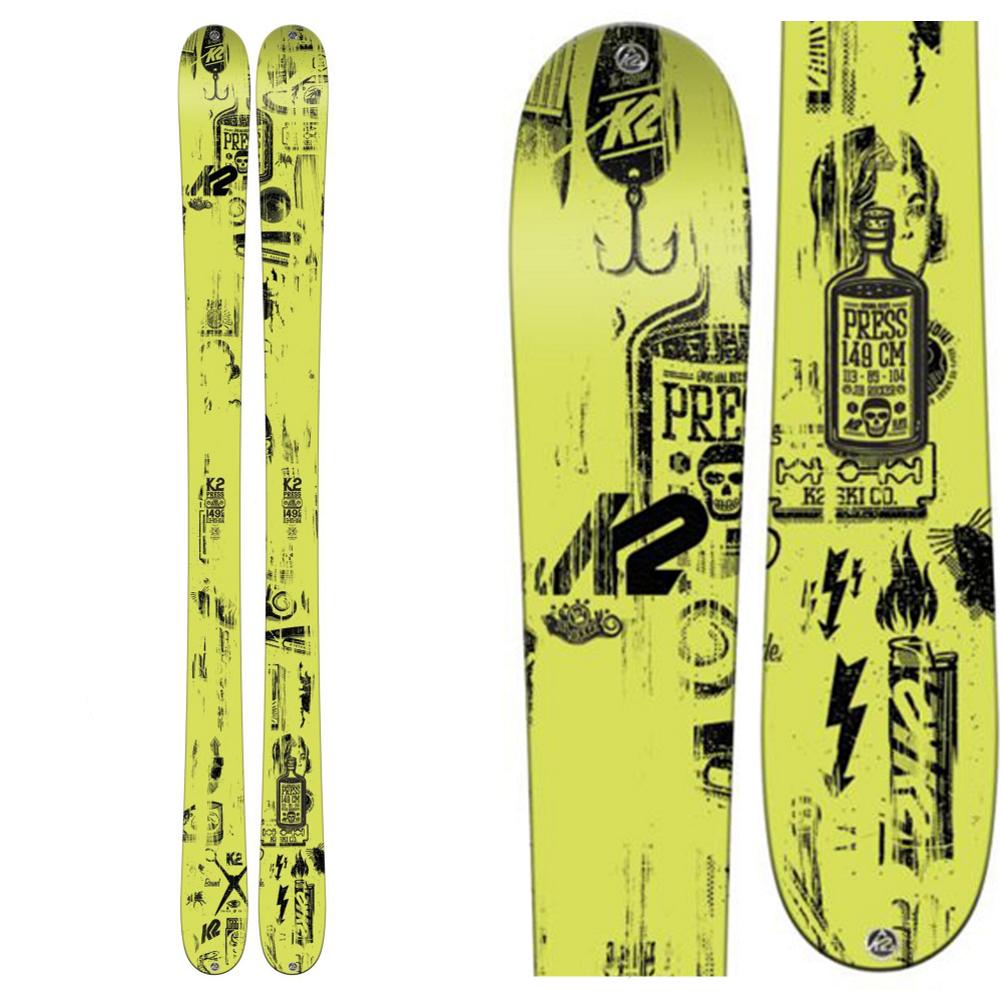 K2 Press Skis 2016