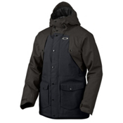 Oakley Merkava Mens Insulated Snowboard Jacket, Jet Black, medium