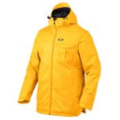 Oakley Region Mens Insulated Snowboard Jacket, Bright Orange, medium