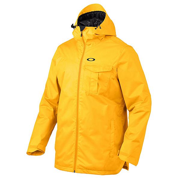 Oakley Region Mens Insulated Snowboard Jacket, Bright Orange, 600