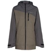 Oakley Quebec Womens Insulated Snowboard Jacket, Worn Olive, medium