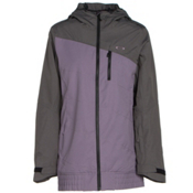 Oakley Quebec Womens Insulated Snowboard Jacket, Purple Sage, medium