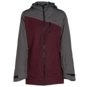 Oakley Quebec Womens Insulated Snowboard Jacket, Aubergine, medium