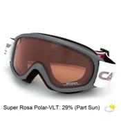 Carrera Arthemis Womens Goggles, Grey Matte Graffiti-Super Rosa Polarized, medium