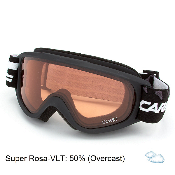 Carrera Arthemis Womens Goggles, Black Matte Diamonds-Super Rosa, 600