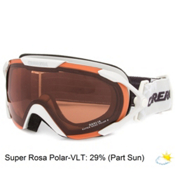 Carrera Dahlia Womens Goggles, White Rubber Diamond-Super Rosa Sph Polarized, medium